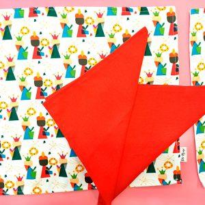 Mantel Reyes Magos Tete Rouge