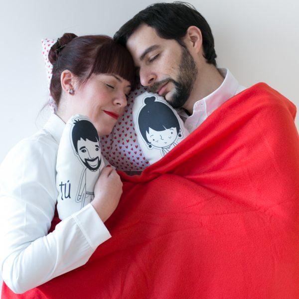 Tete Rouge Cojines de Amor Pequeños