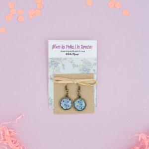Tete Rouge Pendientes Falleras Azules