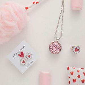 conjunto corazones tete rouge