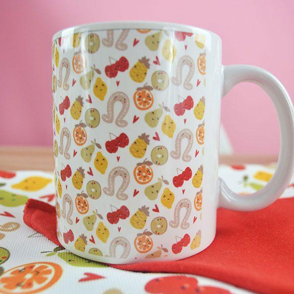 taza estampado san donis tete rouge